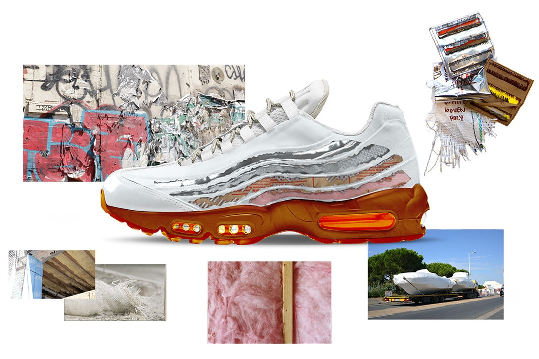 Air Max 95 Cross Section by Brett Ginsberg