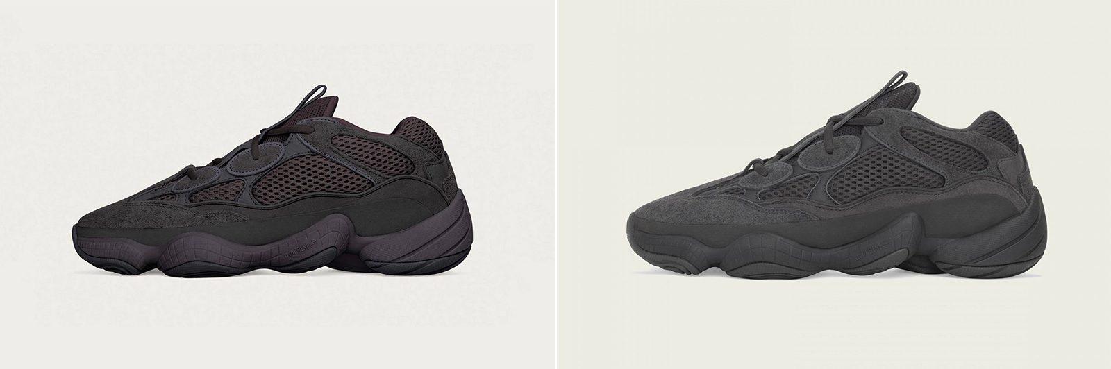 "adidas YEEZY 500 ""Utility Black"""