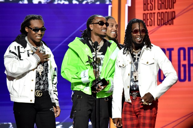 2018 BET Awards Migos