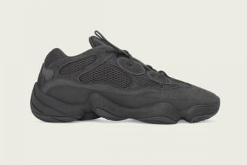 "adidas Yeezy 500 ""Utility Black"" ресток в 2020 году"