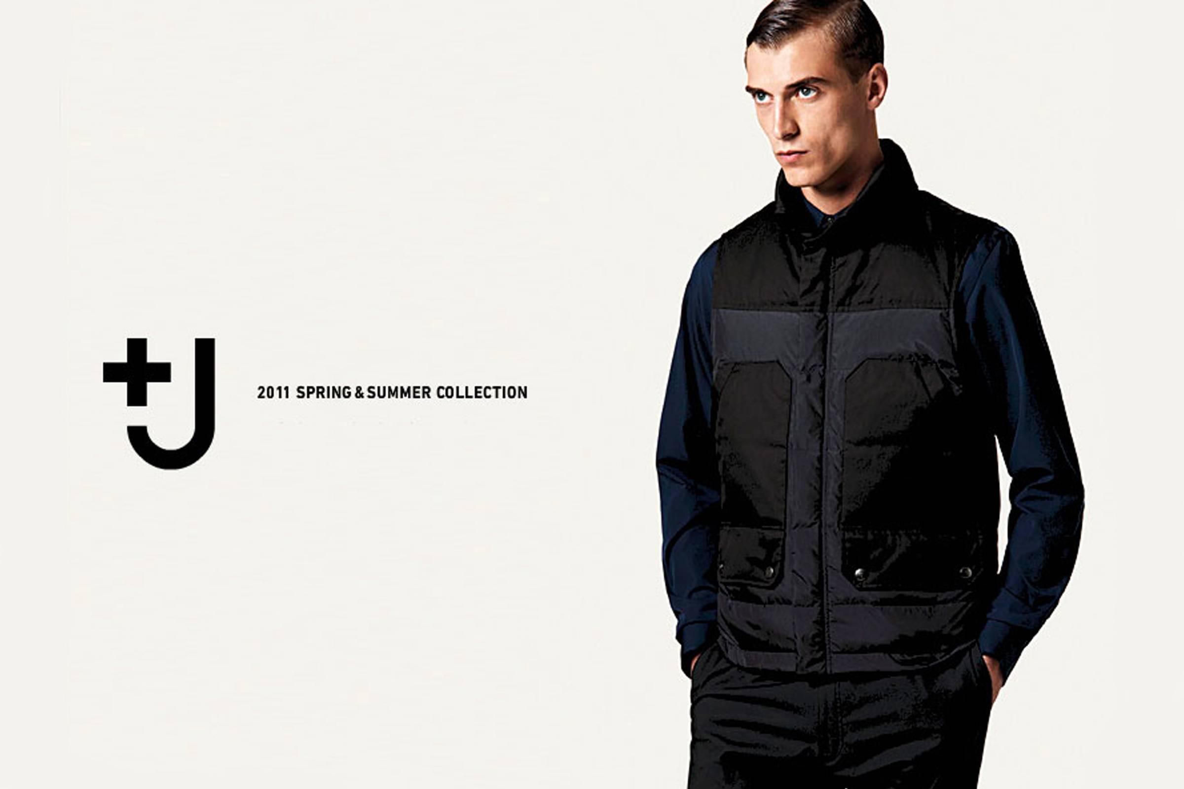 Реклама коллекции Uniqlo +J Весна/Лето 2011