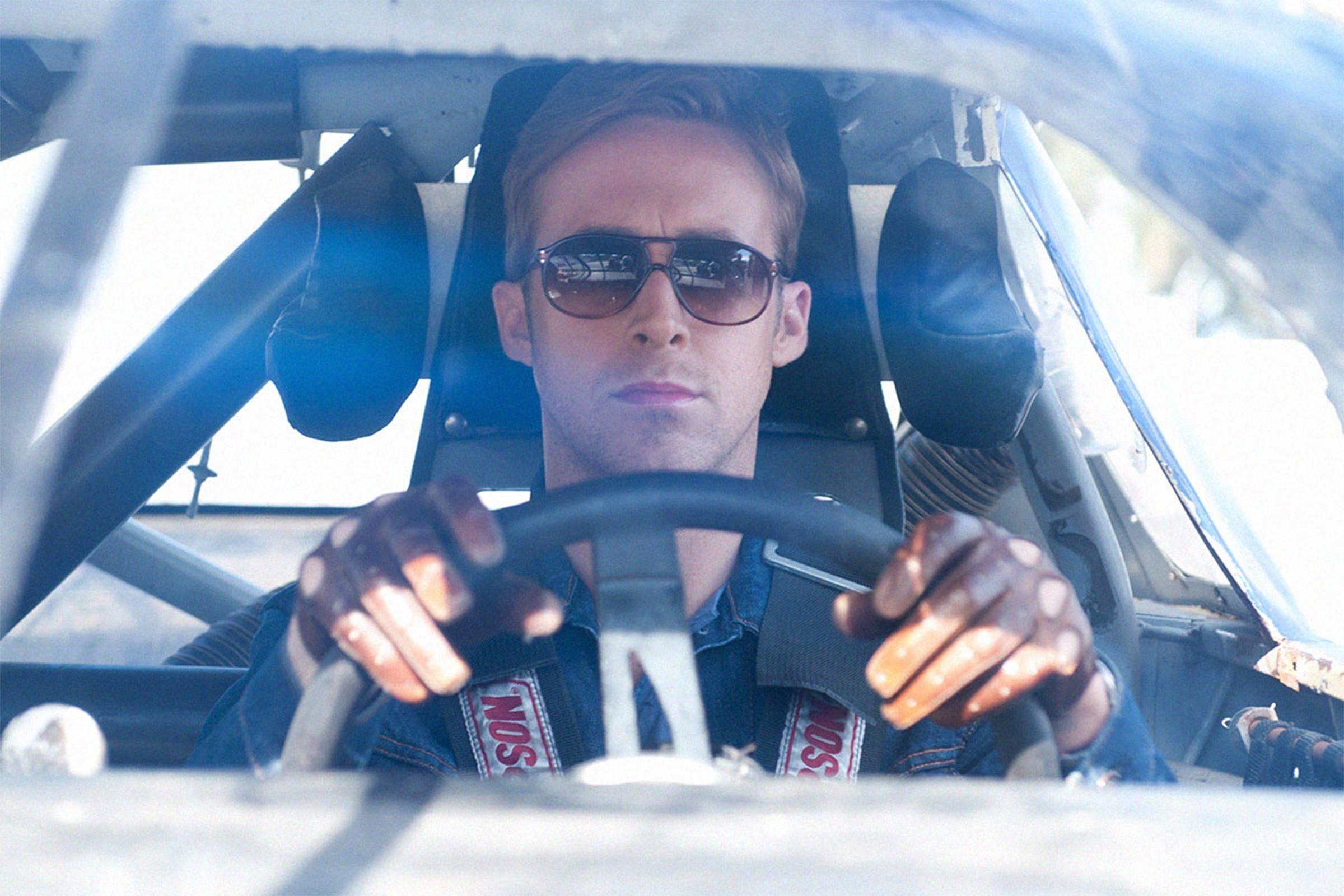 Винтажные солнцезащитные очки-авиаторы в черепаховой оправе, кожаные водительские перчатки Gaspar драйв 2011