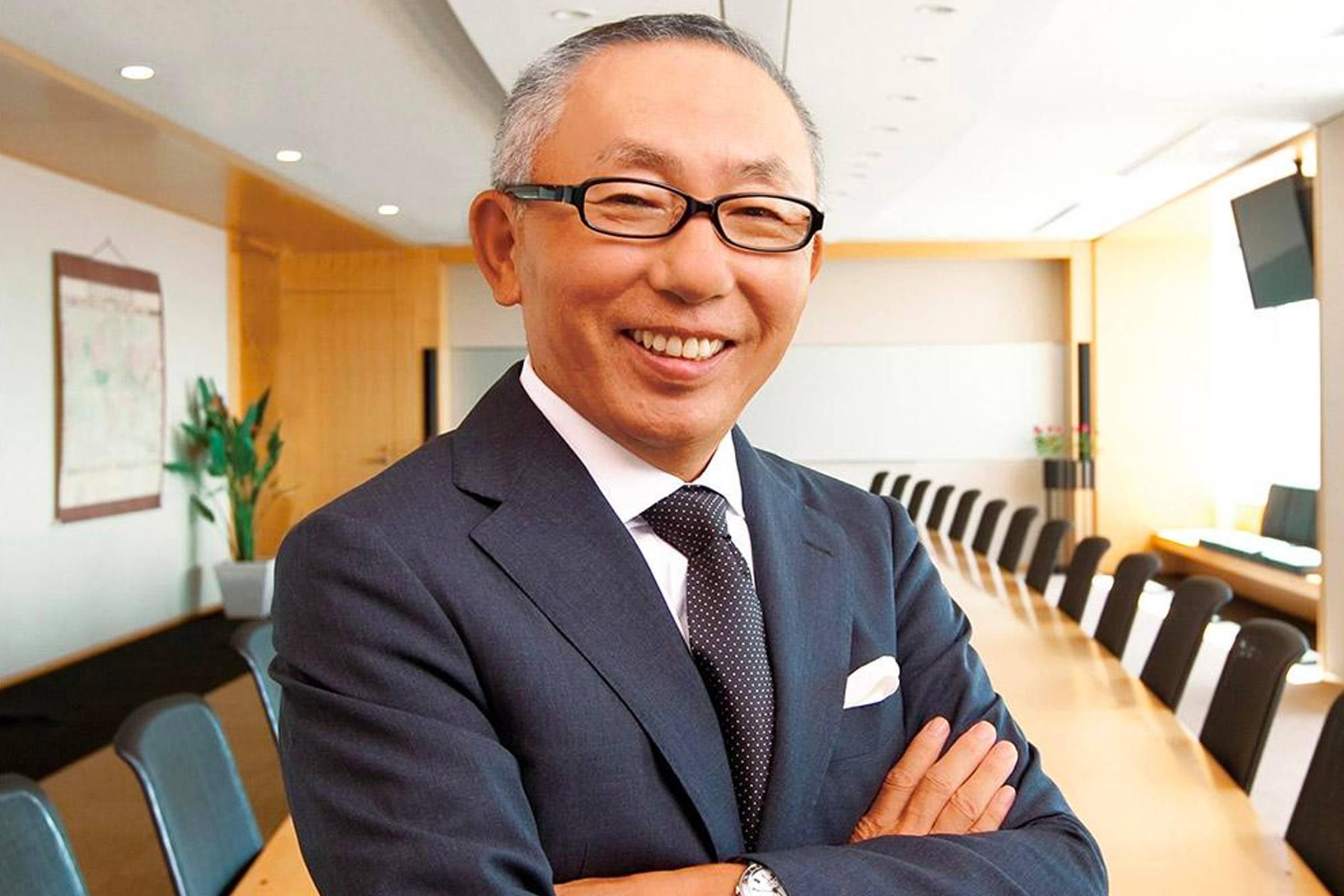 Тадаси Янаи, основатель и президент Fast Retailing и Uniqlo