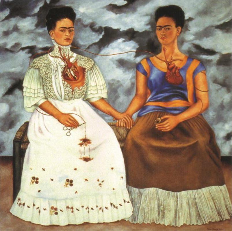 Картина «Две Фриды», 1939 год. Фрида Кало
