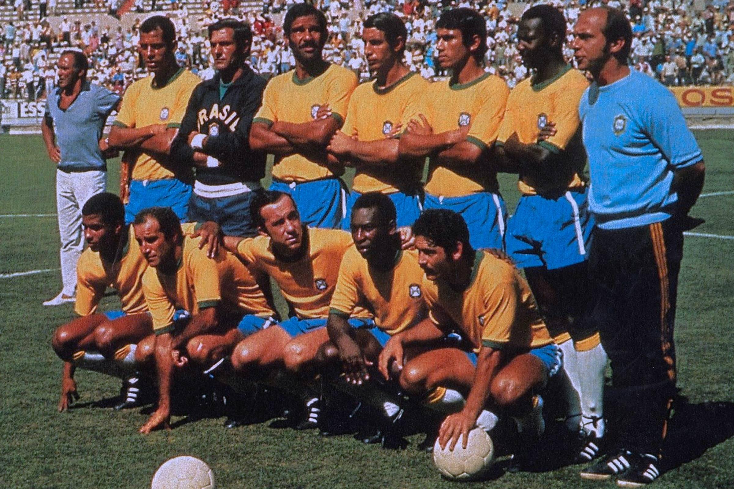 Домашняя форма сборной Бразилии 1970 года