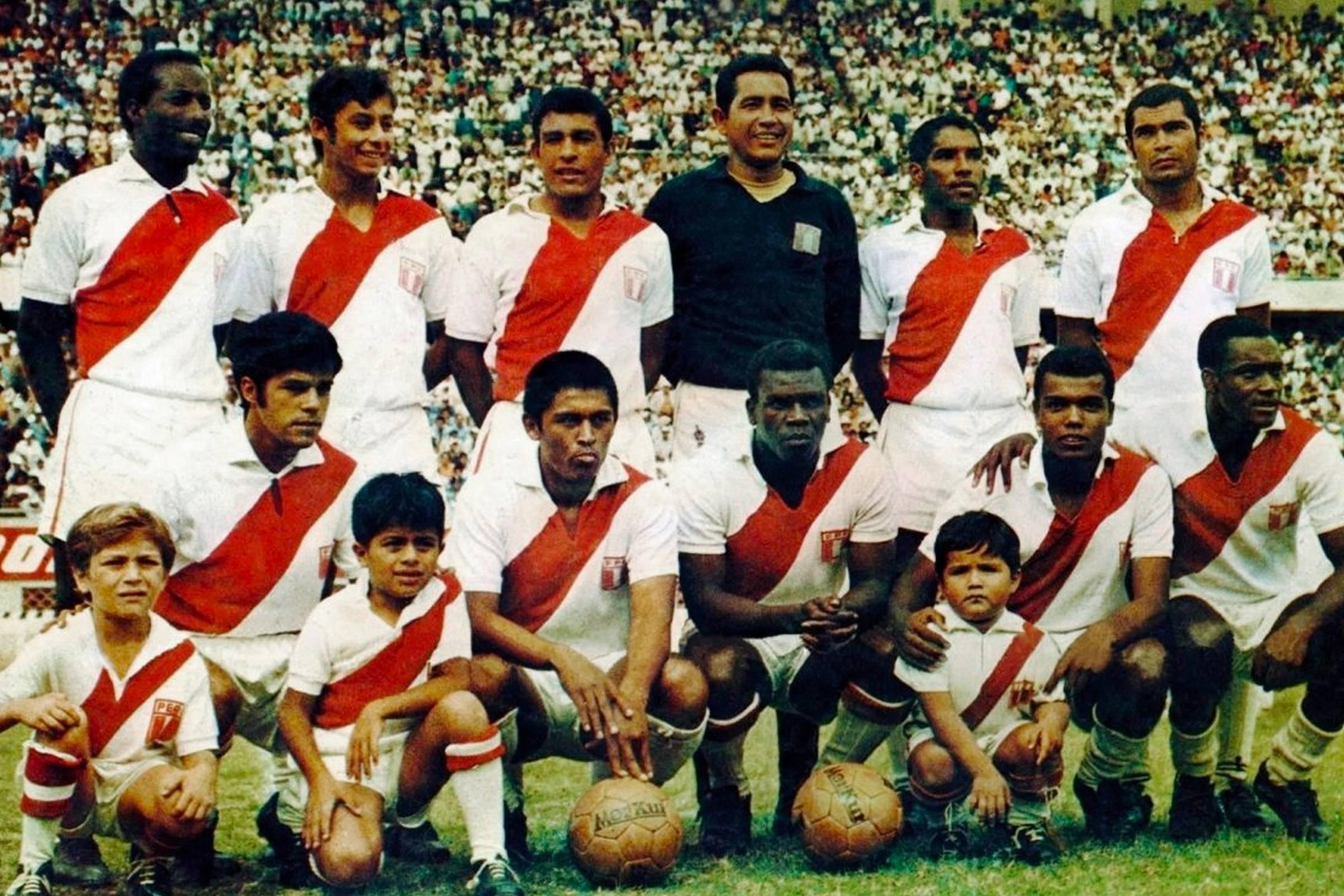 Домашняя форма сборной Перу 1970 года