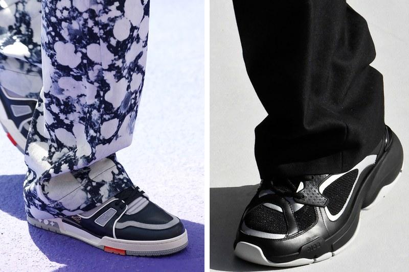кроссовки мужская мода