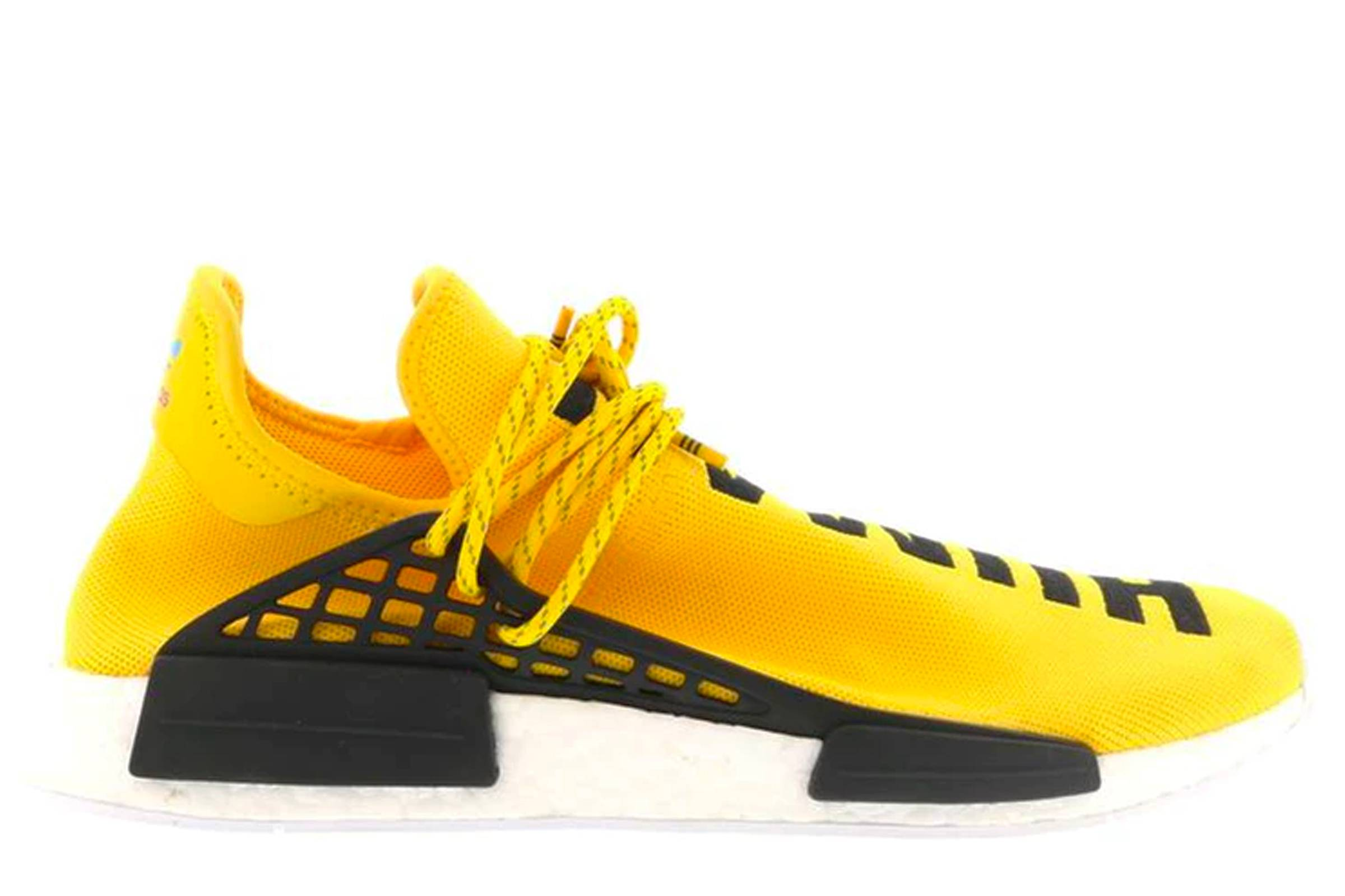 adidas x Pharrell Williams HU NMD Human Race, Yellow Version (2016) история adidas Boost