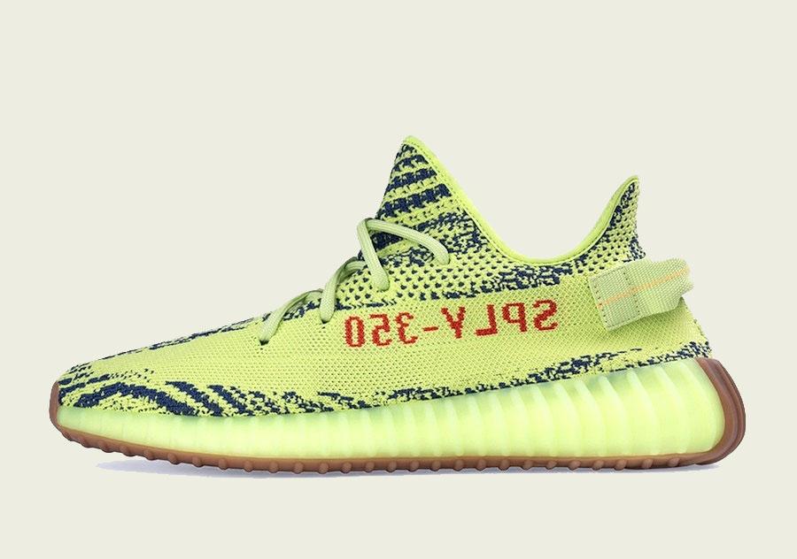 "adidas Yeezy Boost 350 v2 ""Semi-Frozen Yellow"""