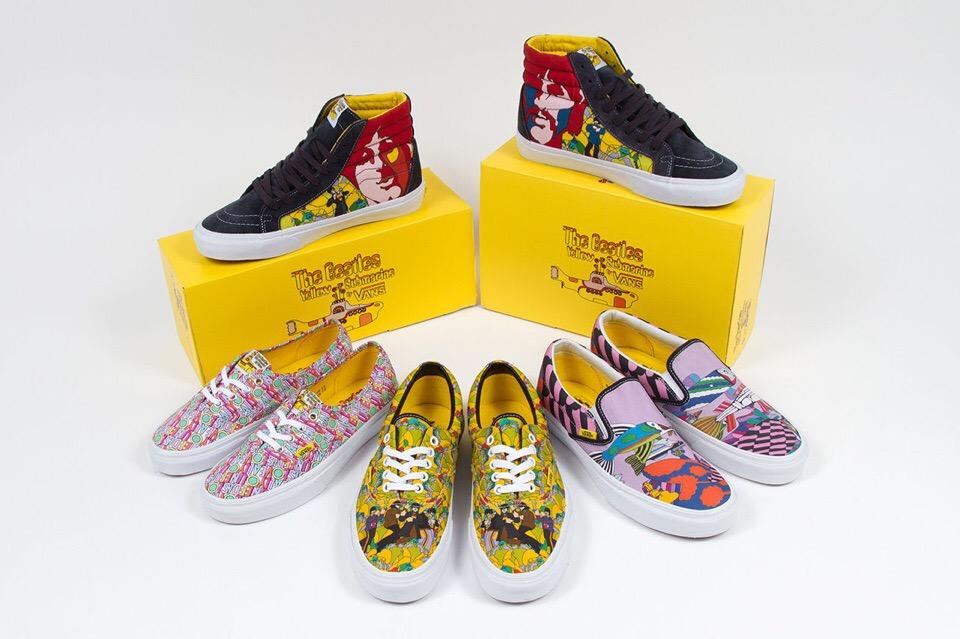 Vans x The Beatles «Yellow Submarine» 2014