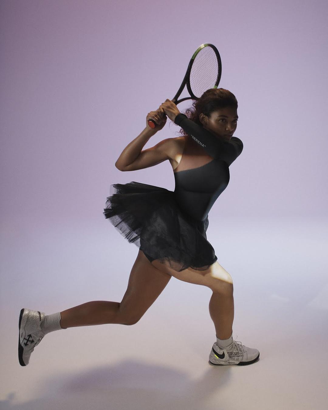 Серена Уильямс для Nike x Off-White коллекция Вирджила Абло
