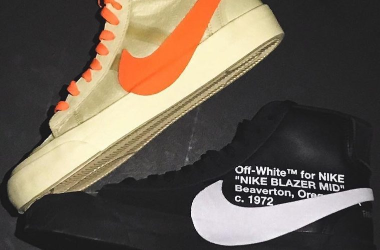 Off-White показал результаты коллаборации Off-White x Nike Blazer