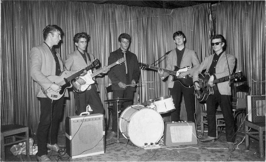 «The Beatles» в гамбургском клубе Indra