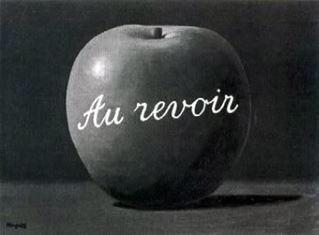 Картина Рене Магритта, подаренная Полу Маккартни