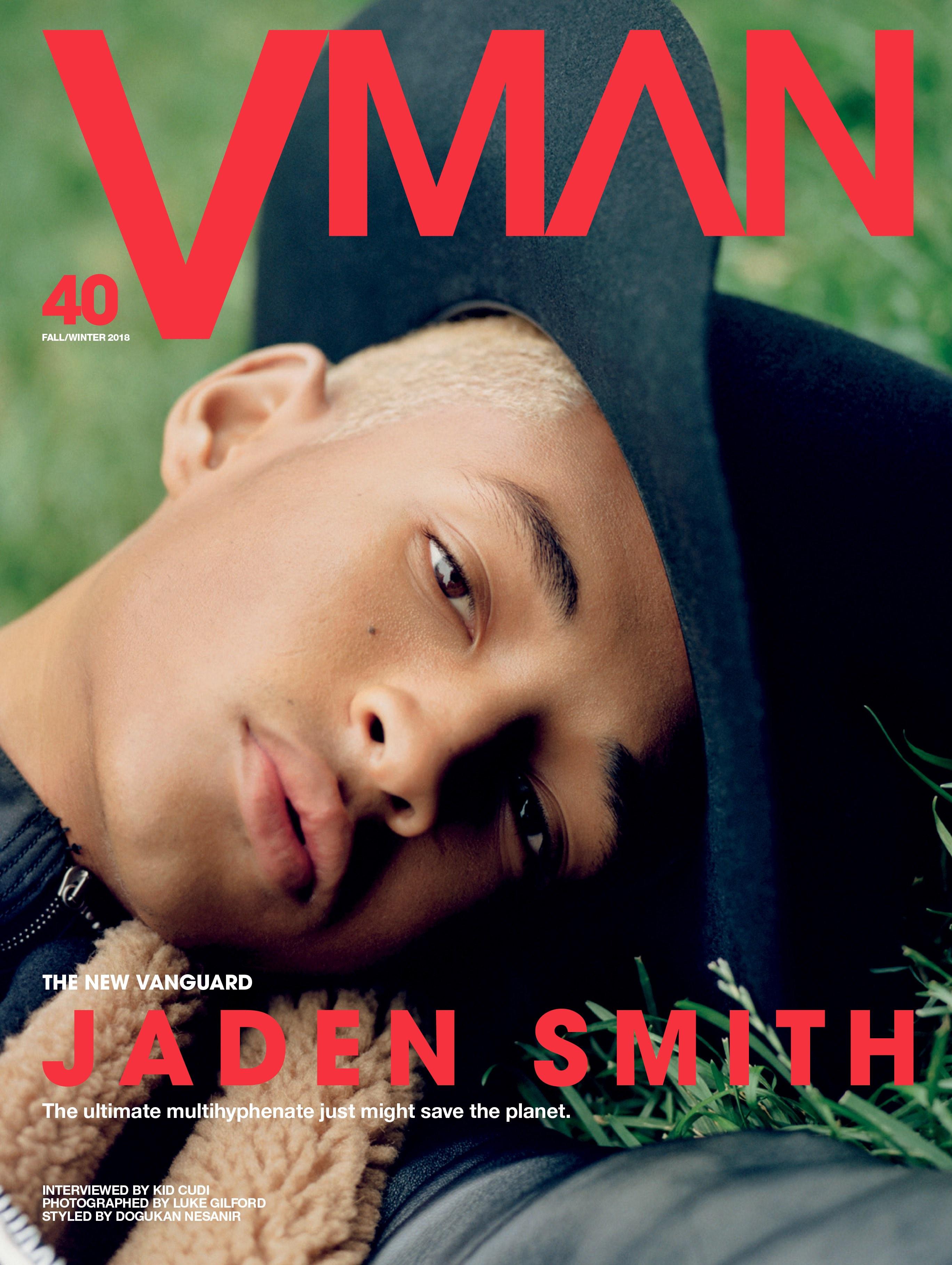 Джейден Смит на обложке VMAN40
