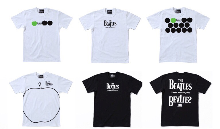 Comme des Garcons x The Beatles 2009