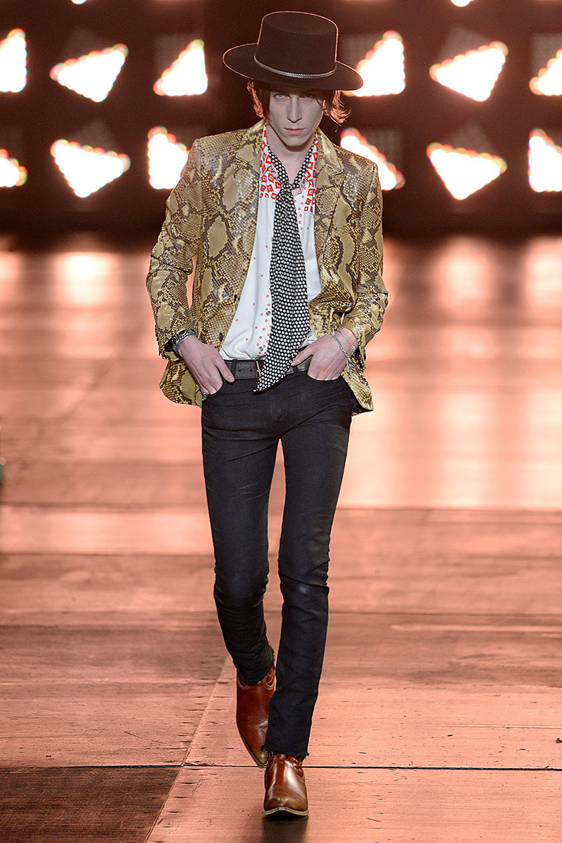 Saint Laurent Spring/Summer 2015 Menswear