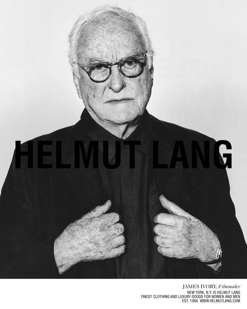 «Smart People Wear Helmut Lang»