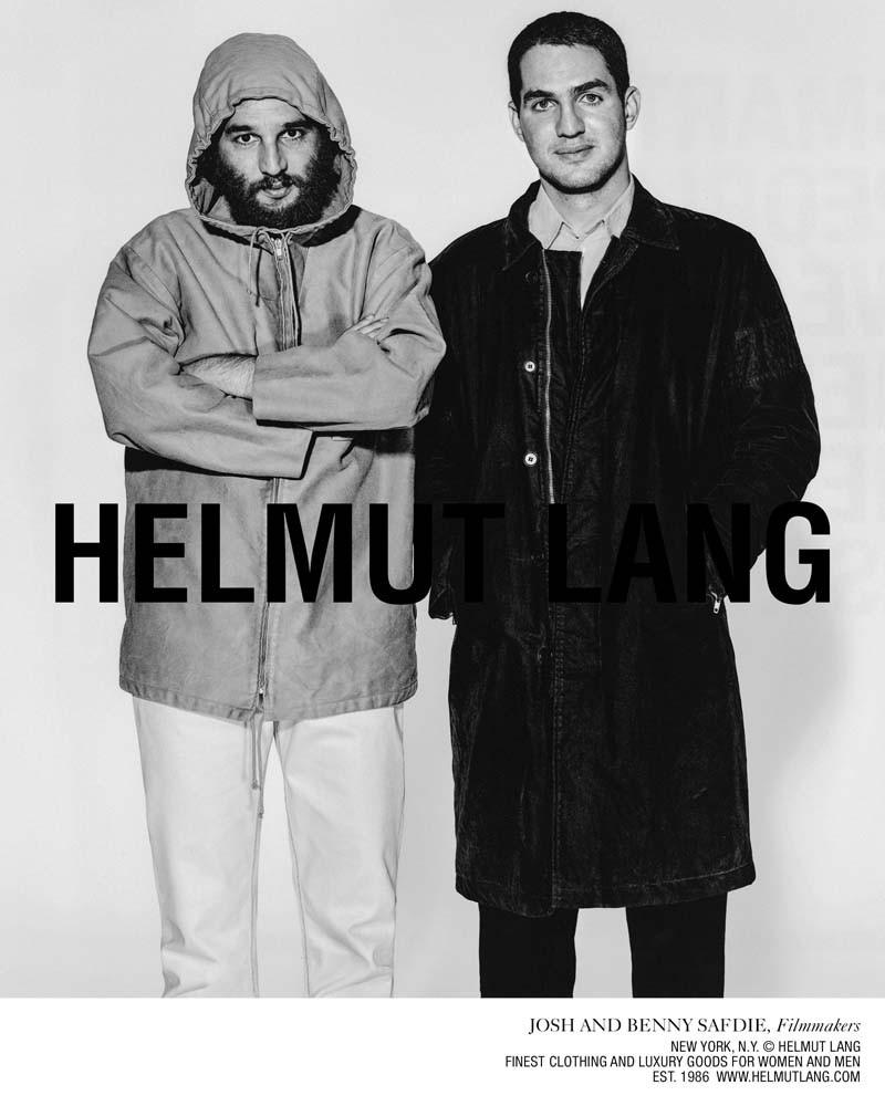 «Smart People Wear Helmut Lang» Кампания Осень/Зима 2018