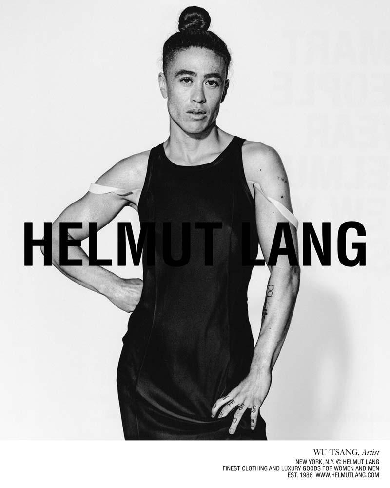 «Smart People Wear Helmut Lang» Campaign