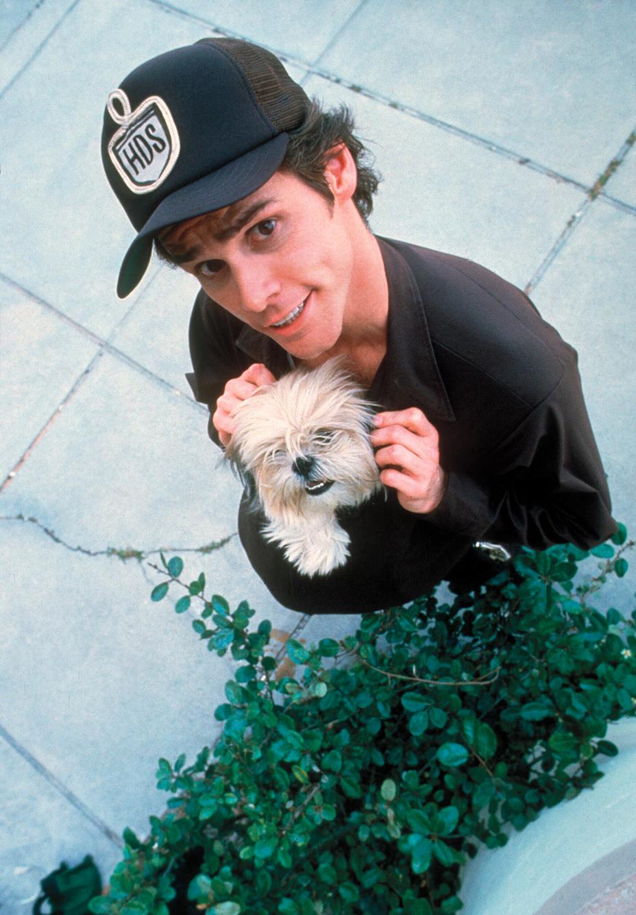 Джим Керри в «Эйс Вентуре» 1994 год