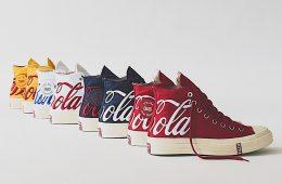 Ронни Файг рассказал о предстоящей коллекции KITH x Coca-Cola Converse