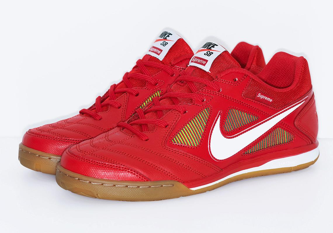кроссовки Supreme x Nike SB Gato