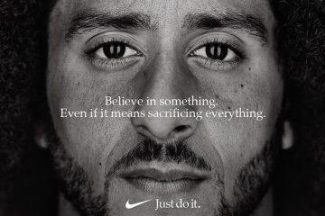 Колин Каперник в новой рекламе от Nike