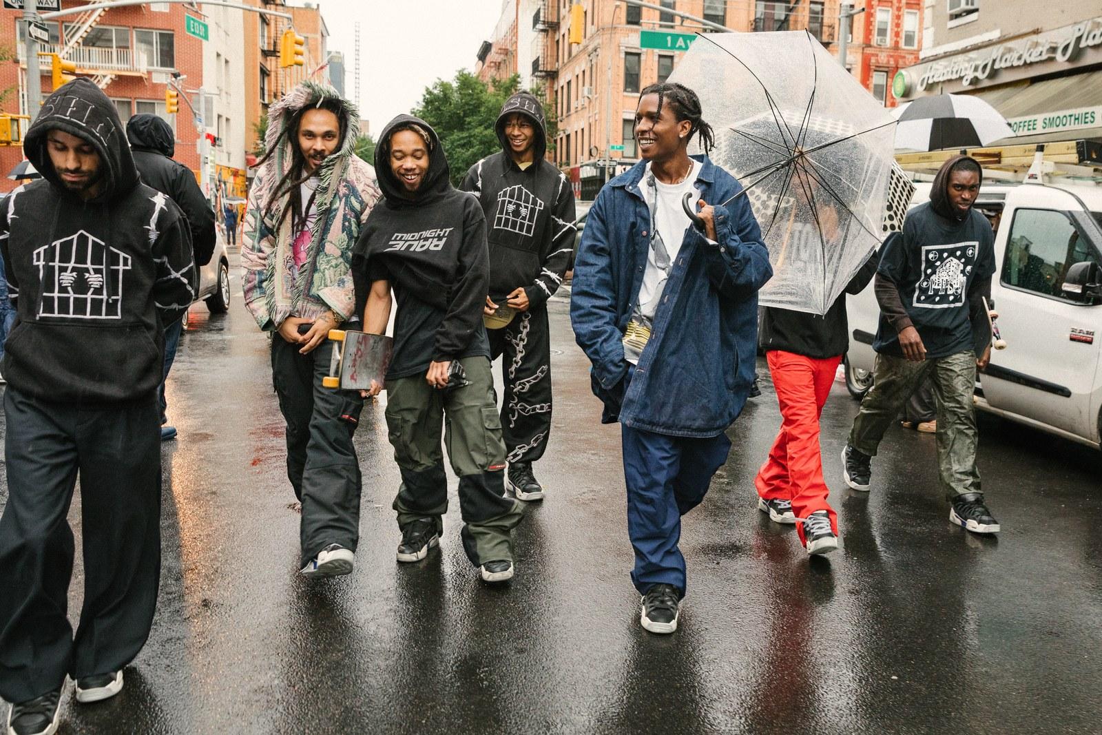 A$AP Rocky в AWGE x Under Armour SRLo интервью для GQ