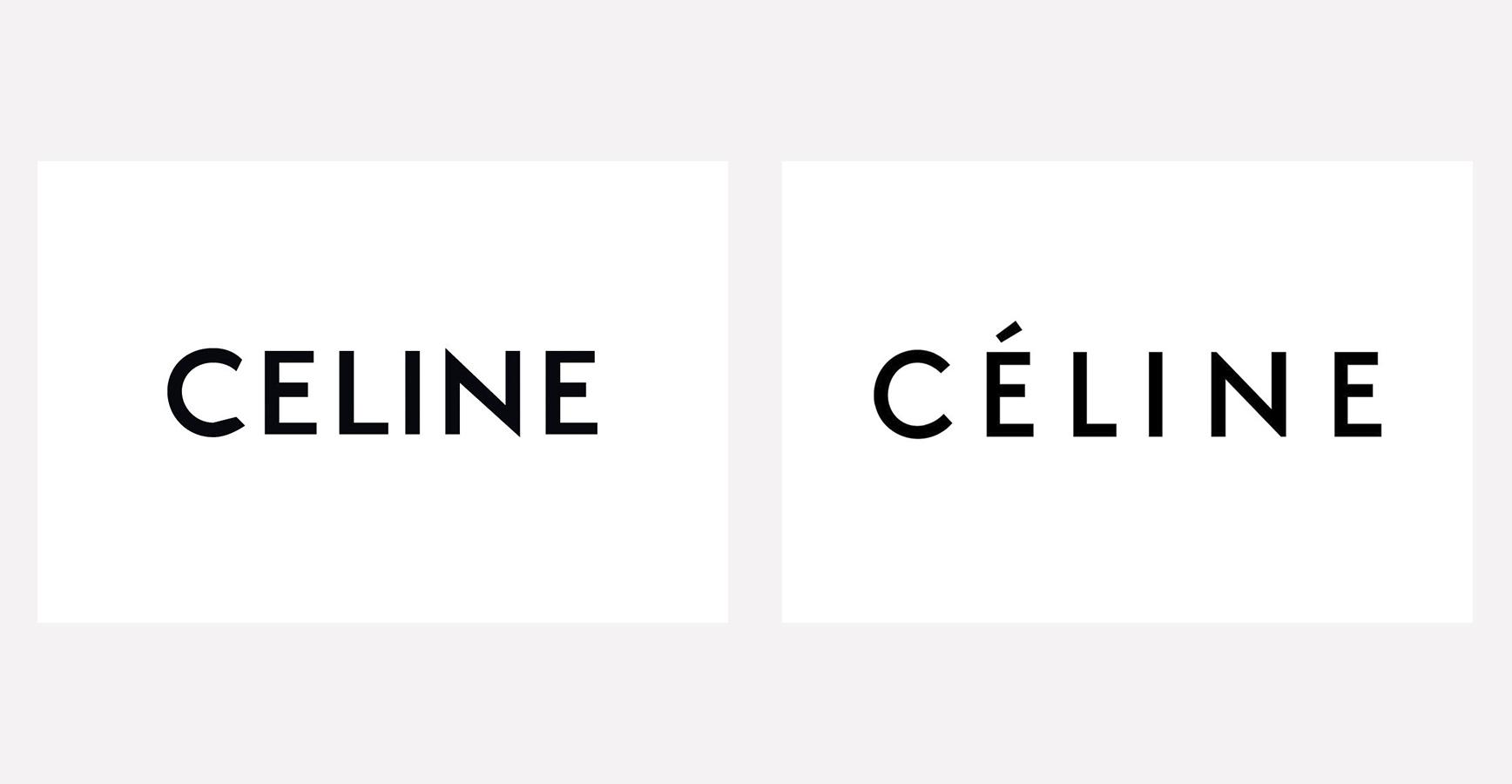 Эди Слиман изменил логотип CELINE