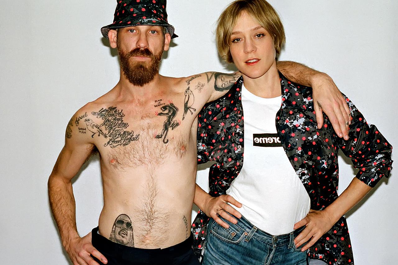 Хлоя Севиньи и Джейсон Дилл Comme des Garcons Shirt x Supreme 2013