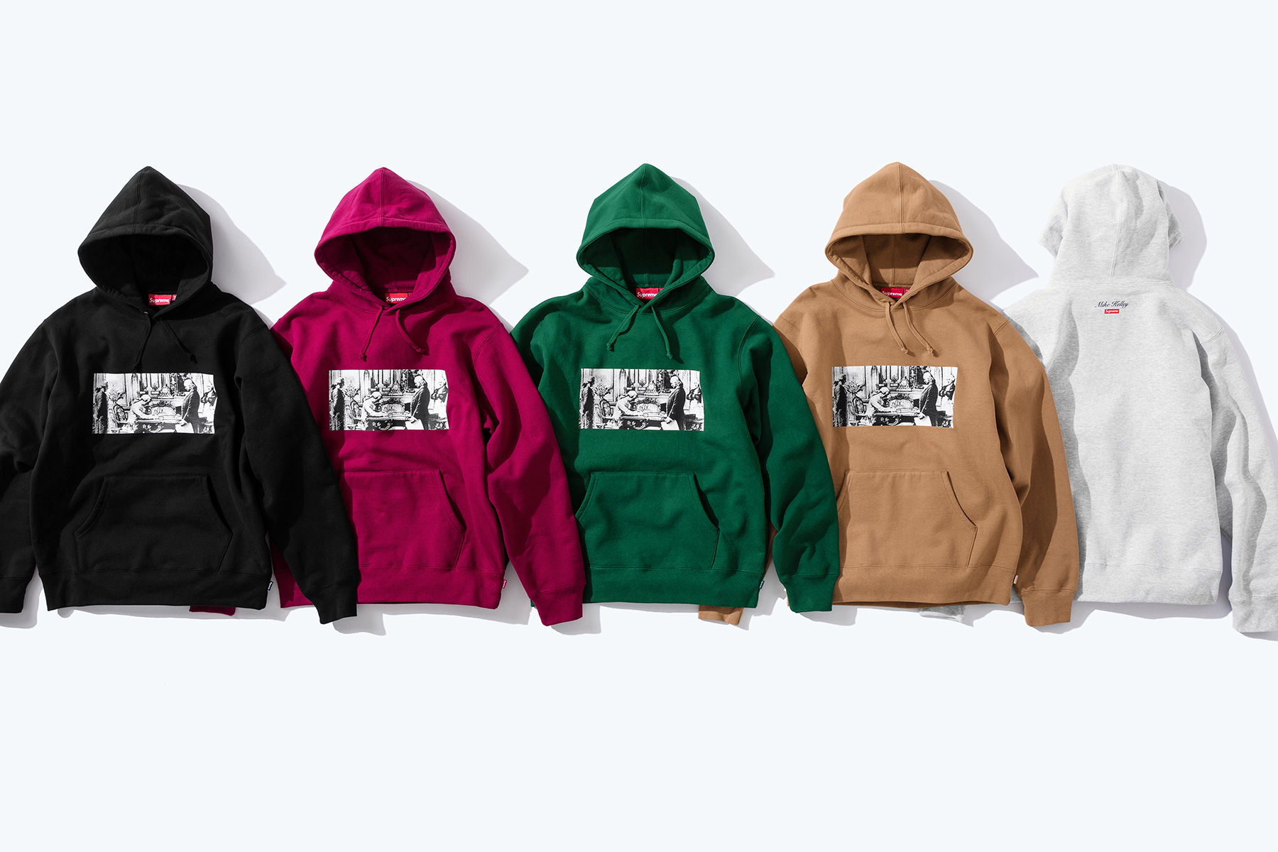 Supreme x Mike Kelley Худи