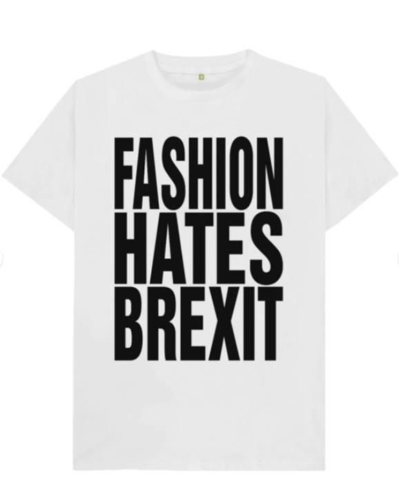 Футболка Katharine Hamnett Fashion Hates Brexit