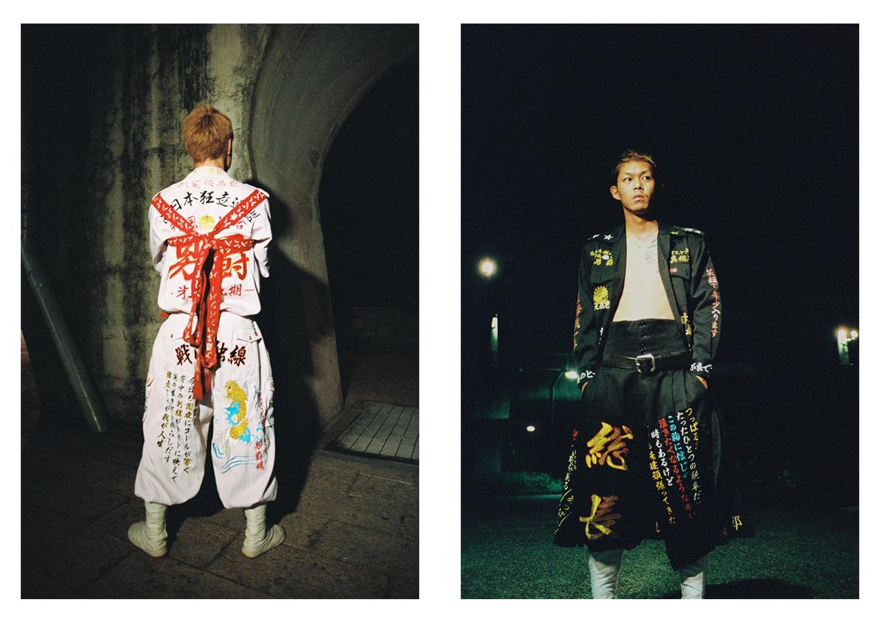 АНТИ-UNIQLO: Сельская молодежь Японии помешана на дерзкой вышивке