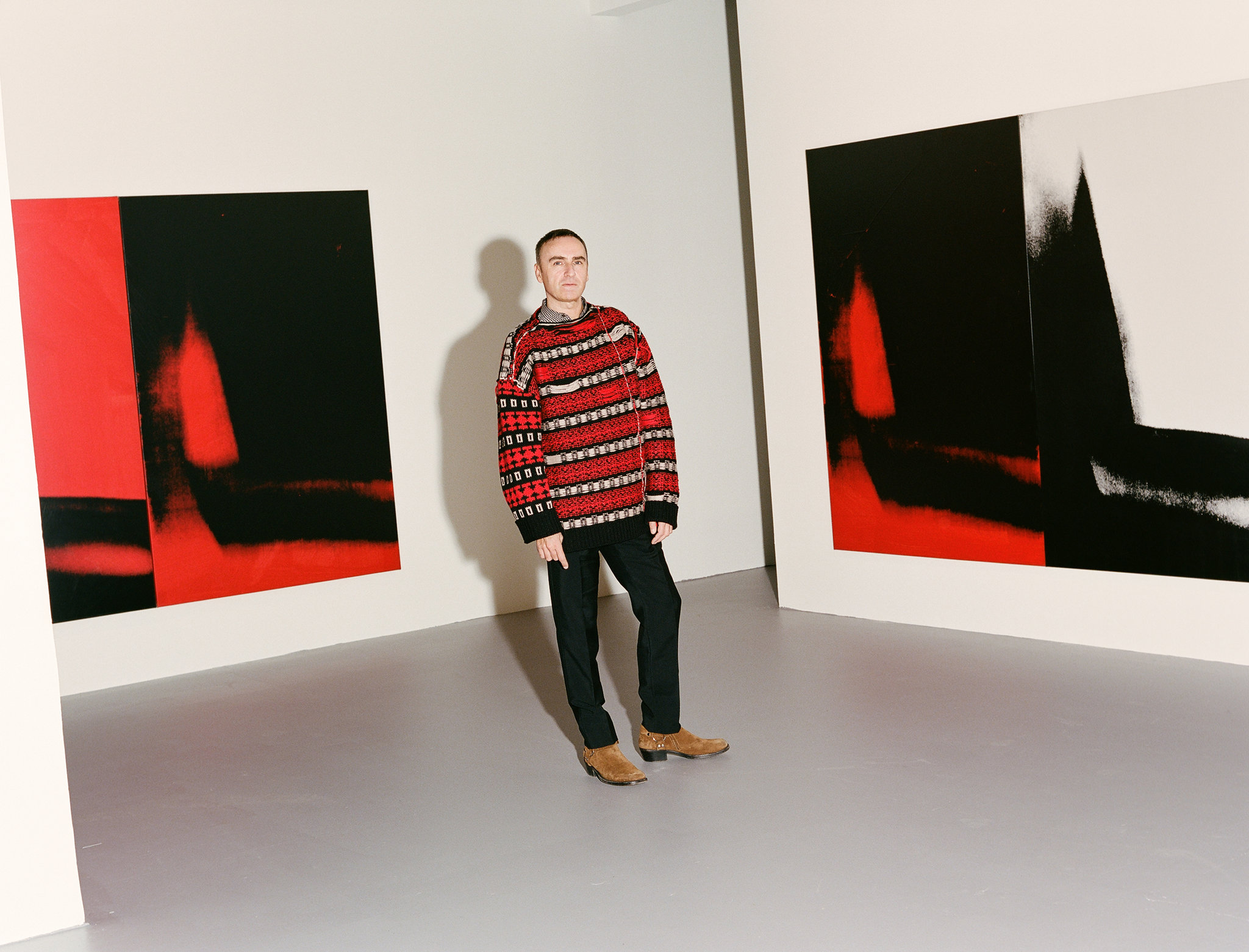 Раф Симонс в штаб-квартире Calvin Klein, интервью для New York Times