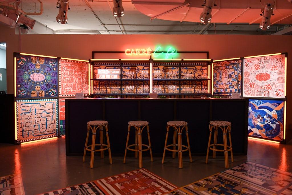 Кафе Hermès Carré Club в Нью-Йорке