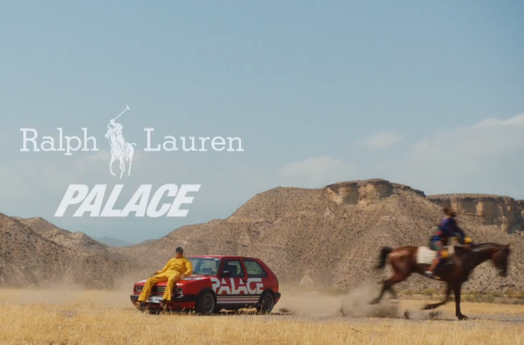 Вышло видео с лукбуком и датой релиза коллаборации Palace x Ralph Lauren