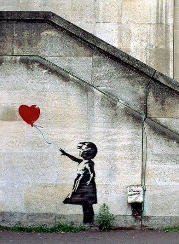 «Девочка с воздушным шаром» Бэнкси