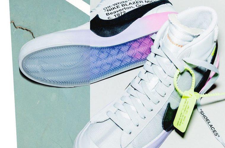 Коллаборация Off-White x Nike Blazer будет доступна в трех расцветках