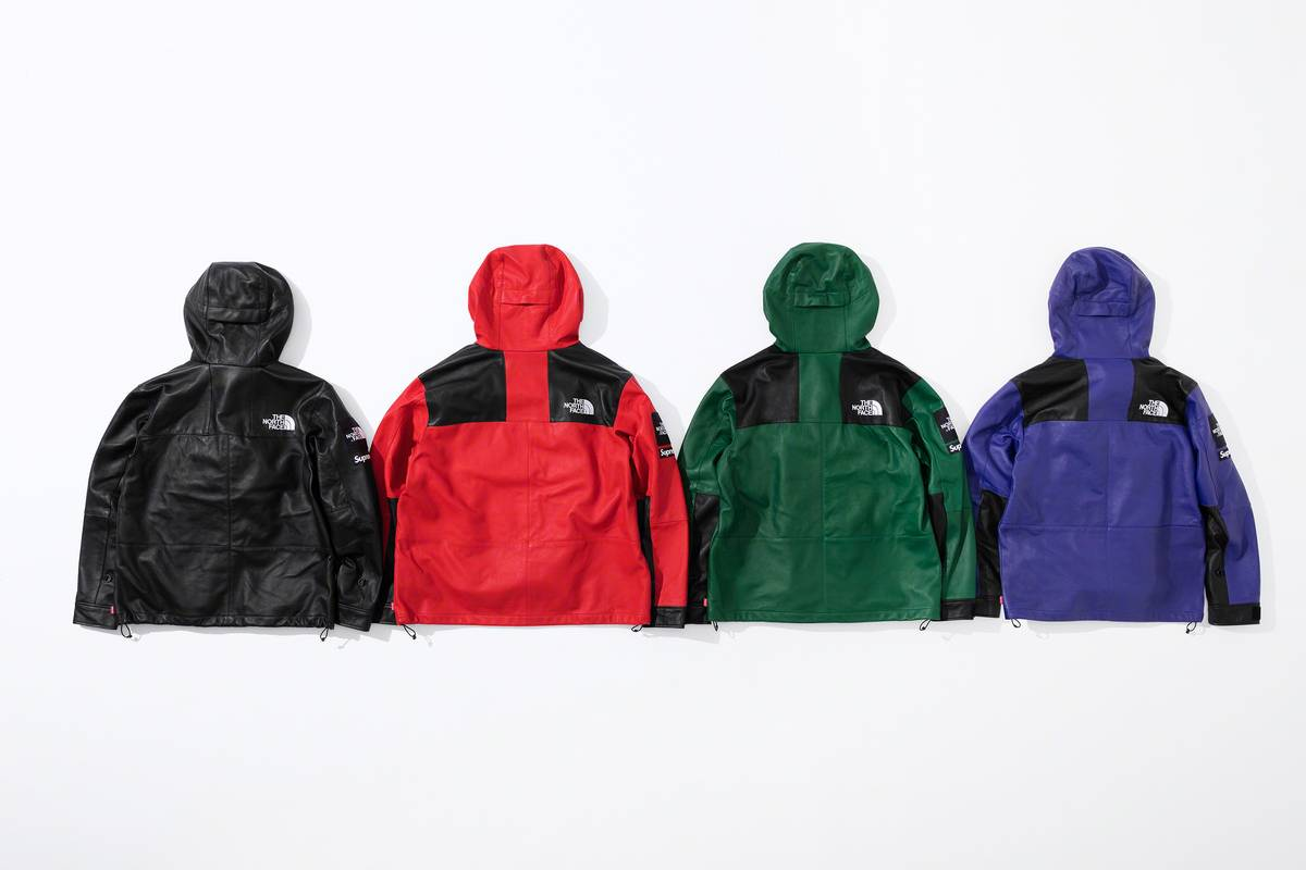 Supreme x The North Face 2018 jackets