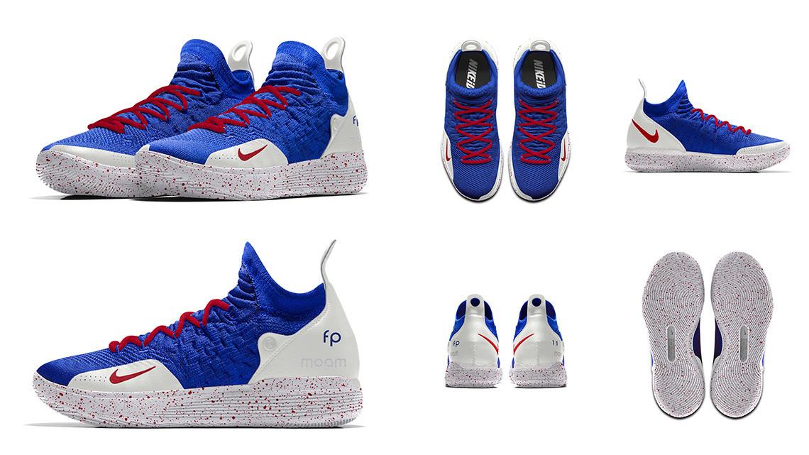 Франк Нтиликина Nike KD11 «France»