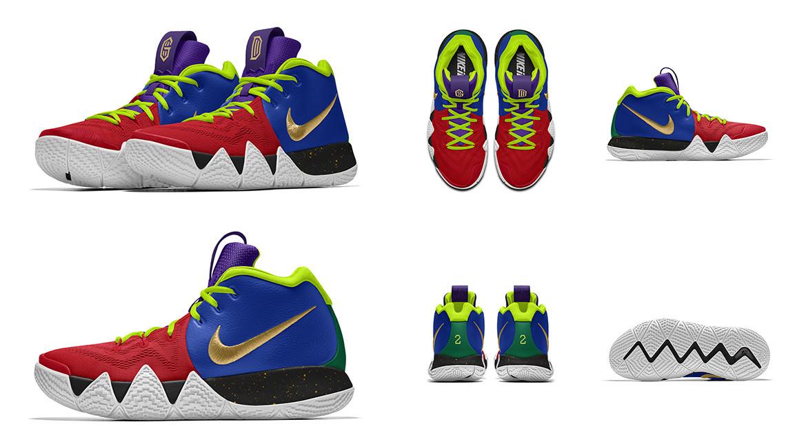 Коллин Секстон Nike Kyrie 4 «Different»