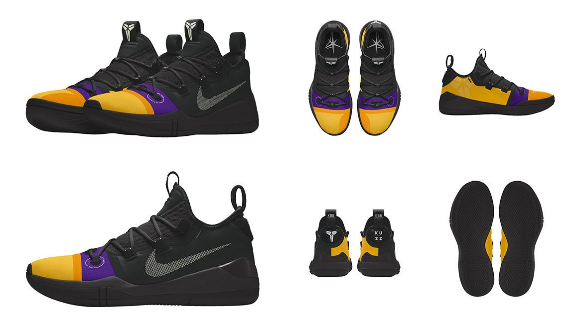 Кайл Кузма Nike Kobe AD «Kuzz Kontrol»