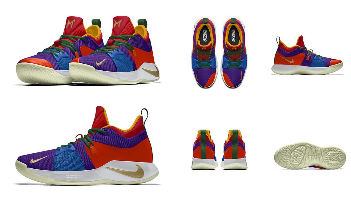 Джейсон Тейтум Nike PG2 «Coloring Book»