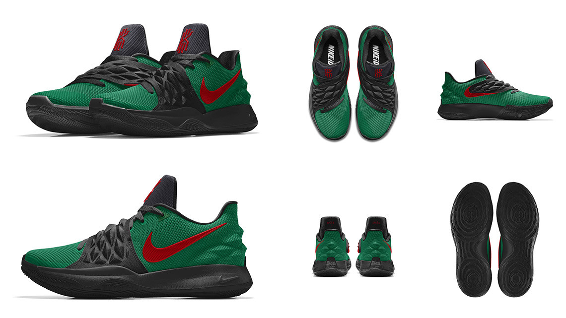 Келси Митчелл Nike Kyrie Low 1 «Cages»
