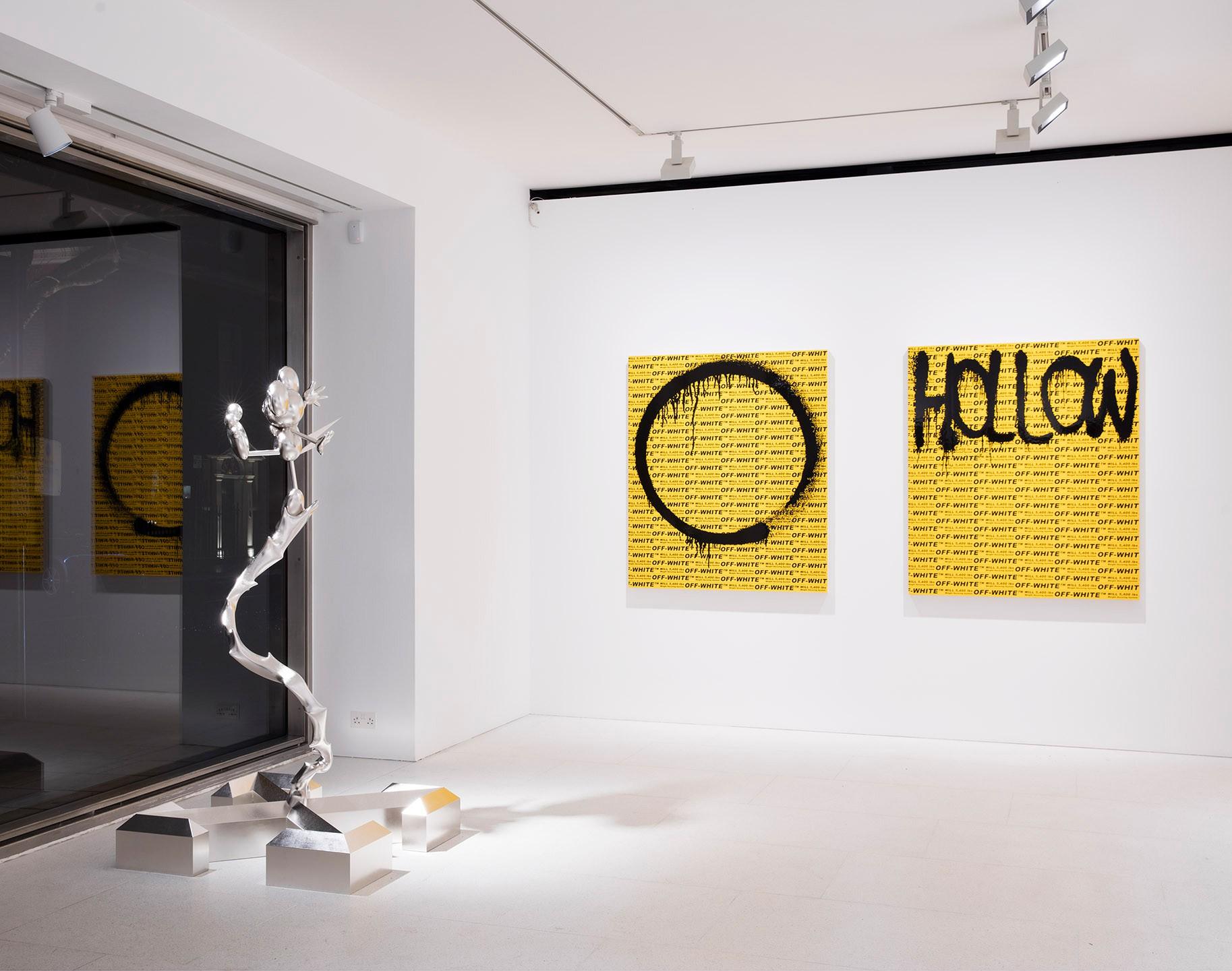 Вид на инсталляцию Мураками и Абло: «Future history»