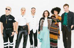 Verbal, Юн, Рио Урибе, Мартин Роуз, Чиома Ннади и Гленн Мартенс - дизайнеры на конференции Vogue «Forces of Fashion».