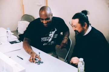 Такаси Мураками и Вирджил Абло о совместной выставке в интервью для Gagosian