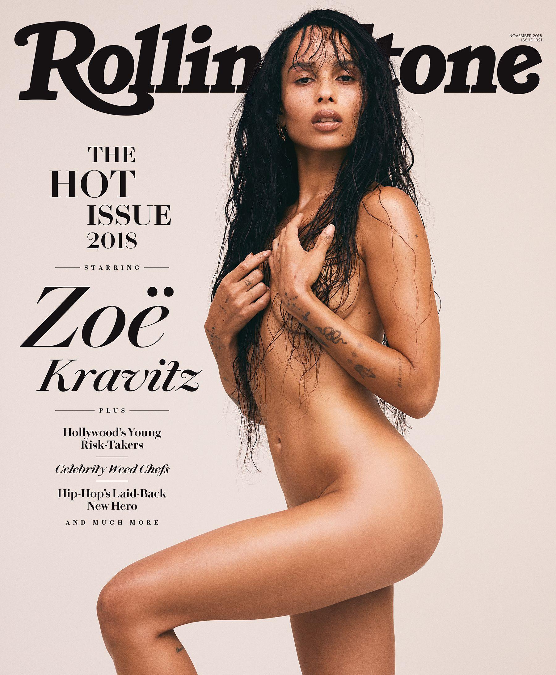 Американская женщина Зои Кравиц. Интервью для Rolling Stone. Фото - Зои Гроссман