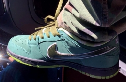 Первый взгляд на пару Concepts x Nike SB Dunk Low «Green Lobster»